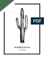 Noprólogos Cactus 15 años