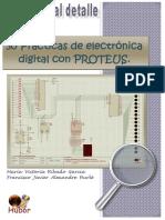 30PracticasDeElectronicaDigitalConProteus
