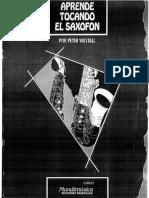Peter Wastall - Aprende Tocando El Saxofon.pdf