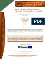 The Nexus Between Immigratin Security Integration