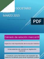 Sesion Uno Derecho Societario