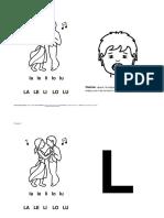 Presentación Fonema L ByN