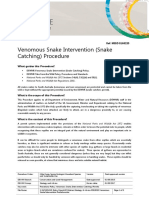 Venomous Snake Intervention Procedure Gen