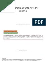 Categorizacion de Las Ipress