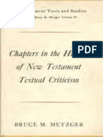 METZGER, Bruce M. (1963), Chapters in the History of New Testament Textual Criticism. Grand Rapids, Wm. B. Eerdmans.pdf