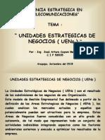 3. Unidades Estrategicas de Negocios