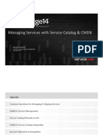 Managing Services With Service Catalog & CMDB