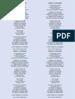 Poema a La Seguridad