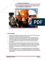 Capacidad de Generacion Del Sistema Sur Del Peru