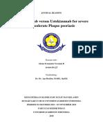 Risankizumab Versus Ustekinumab for Moderate - To - Severe Plaque Psoriasis