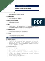 2.- Especificaciones Tecnicas Moto