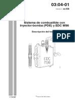 Sistema de Combustible Con Inyector - Bomba (PDE) y EDC MS6