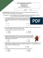 evaluación final 5°def