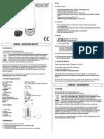 Humidimetro Dvm125 Manual