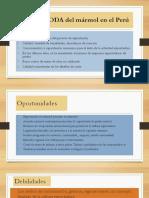Análisis FODA Del Mármol en El Perú[1]