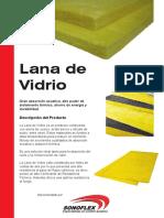 Ficha Tecnica Lana de Vidrio