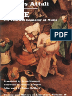 Attali - Noise, The Political Economy of Music