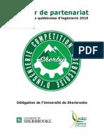 Cahier de Partenariat CQI Sherbrooke 2019