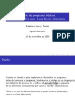 Diseño de programas básicos (Programación Básica)
