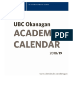 UBC Okanagan Calendar College of Graduate Studies