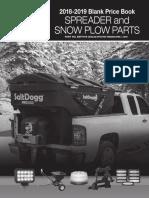 Buyers Snow Plow Parts 2018