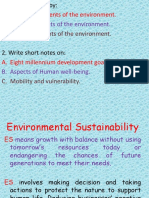 2 Environmental Sustainability