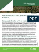 Reforestacion y Fsc