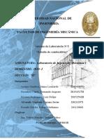 Informe 5 Labo Mecanica
