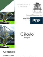 Investigación y Cronología del Calculo