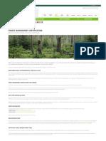 Forest Management Certification · FSC International