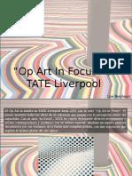 """Luis Benshimol - """"Op Art in Focus"""" en TATE Liverpool"""