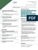 Jitender's Resume
