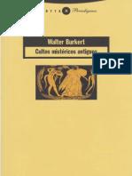 Cultos Mistericos Antiguos Burkert Walter PDF 2