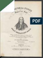 Bach Art Fugue Czerny Digitacion