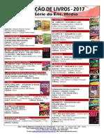 1ª Série Ens. Médio - Lista de Livros