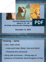 Presentation on Healing and Anointing With Oil From Rev. Dr. Felicia H. LaBoy