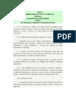 CLT - Artigo 13 Ate 56