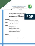 Informe de Intercambiadores de Calor