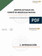 0- PRESENTACIÓN COFEPRIS Lineamientos Actuales