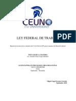 Miguel Serrano - Reporte de Lectura - Derecho Laboral