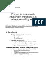Programa de reinserción