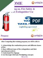 Fire Safety Training Tata Power 19-09-2016