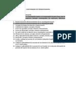 Cuestionario 1 Cromatografía