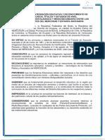 PROTOCOLO DE INTEGRACION EDUCATIVA