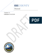 Buncombe County draft procurement manual