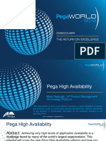 MONDAY Pega High Availability