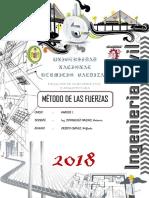METODO DE FUERZAS ANALISIS