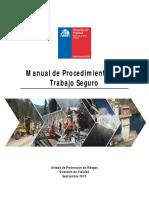 Manual de Procedimientos de Trabajo Seguro MOP-DV