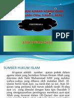 Sumber Nilai Ajaran Islam