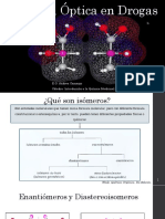 Isomería Óptica en Drogas